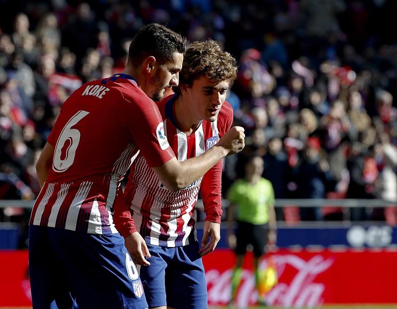 Golo de Griezmann mantém Atlético de Madrid na perseguição ao Barcelona 87b483fc46dcd
