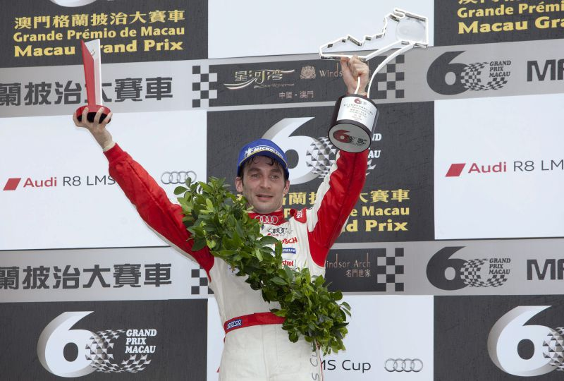 André Couto na taça Blancpain GT World Asia