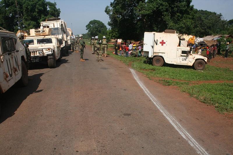 Resultado de imagem para Paraquedista português sofre ferimentos ligeiros após confrontos na República Centro-Africana