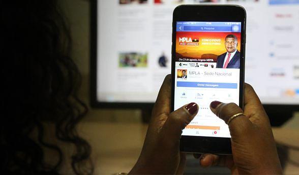 Regulação das redes sociais em Angola