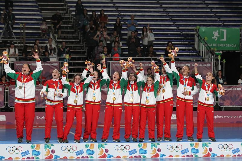 2e88431c01 Seleção feminina de futsal sub-19 conquista ouro nos Jogos Olímpicos da  Juventude