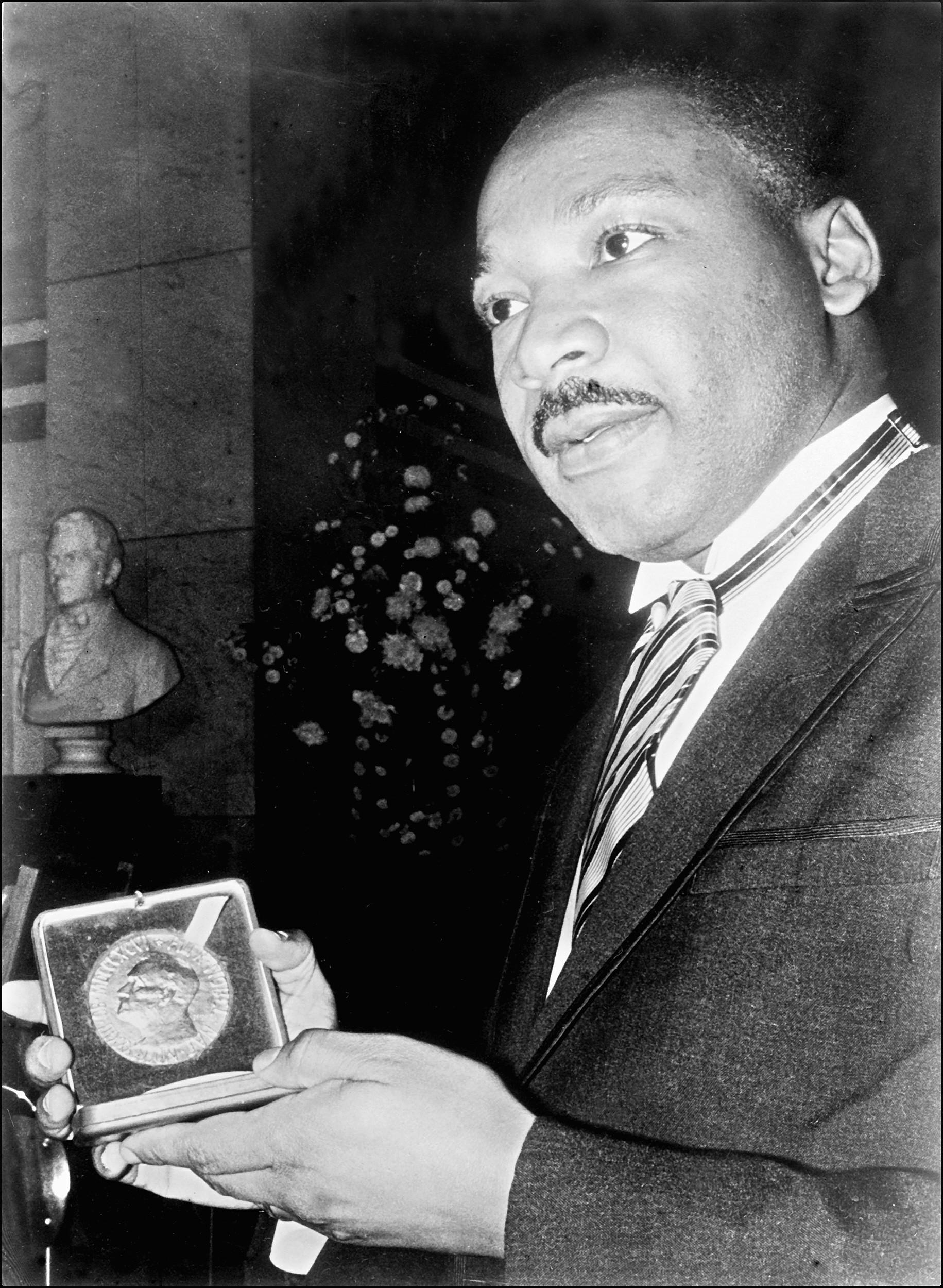 Coretta Scott King e Martin Luther King em dezembro de 1964