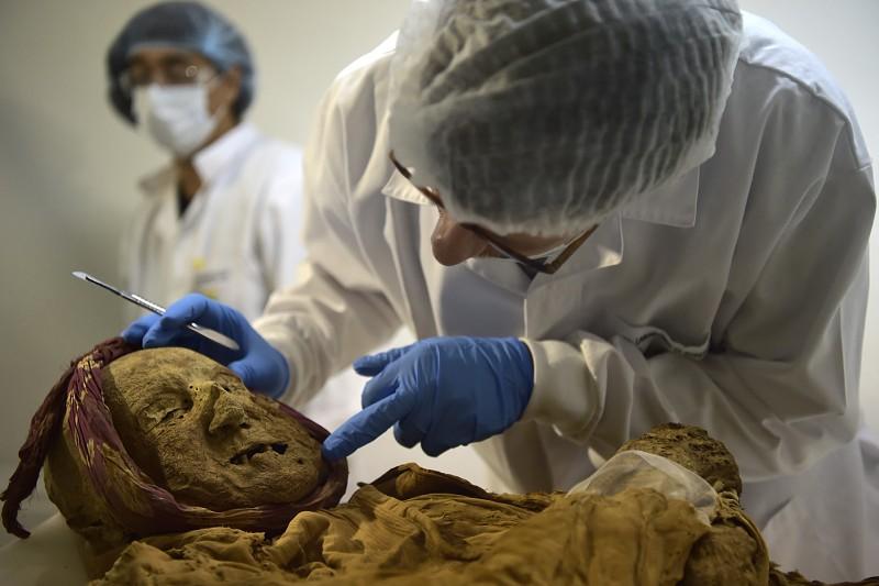Múmia centenária esconde a história de uma das doenças mais dolorosas do mundo