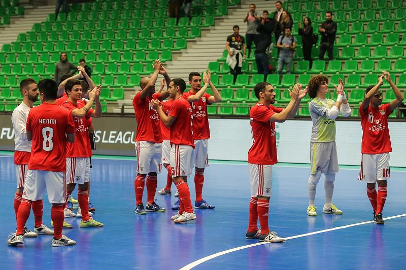 3aac869c52 Benfica revalida título da Taça da Liga de futsal ao vencer Sporting de  Braga