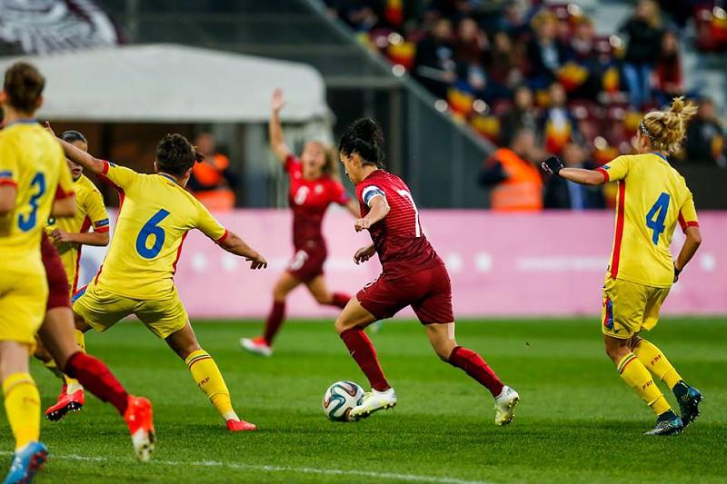 Portugal pela primeira vez na fase final do Europeu feminino de futebol 1d21d71a531ae