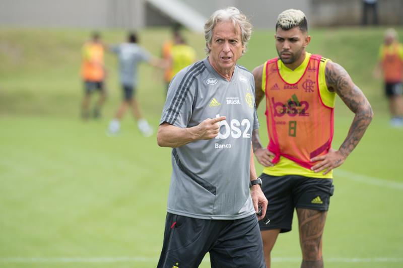 92a4eb10e8 Em direto: Acompanhe o jogo de estreia de Jorge Jesus no Flamengo ...