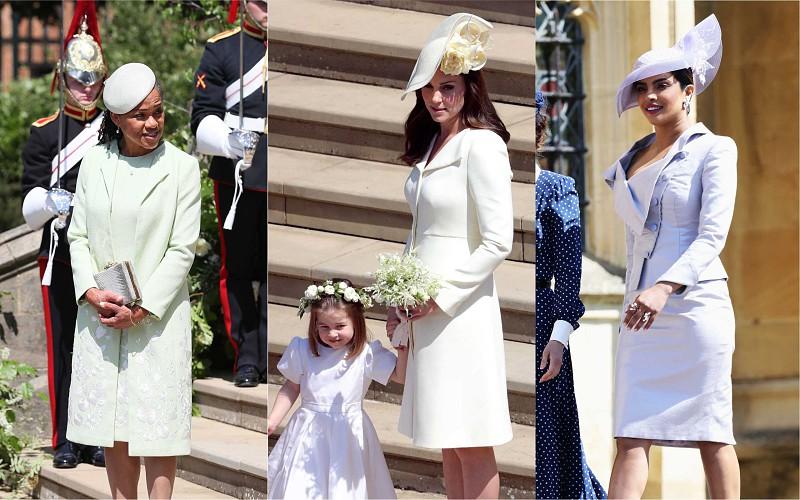 44c21115a9ba Os convidados mais bem vestidos no casamento de Meghan e Harry ...