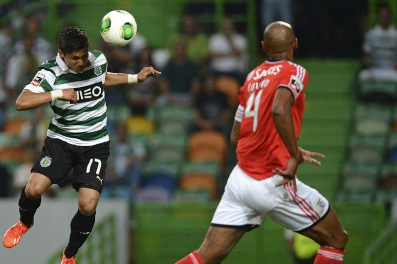 Benfica - Sporting • AFP@FRANCISCO LEONG