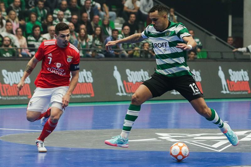 e2e14da744 Sporting empata com Benfica e garante  final four  da Liga dos Campeões de  futsal