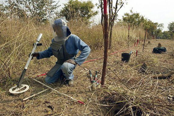 Cinco crianças angolanas da mesma família feridas em explosão de mina
