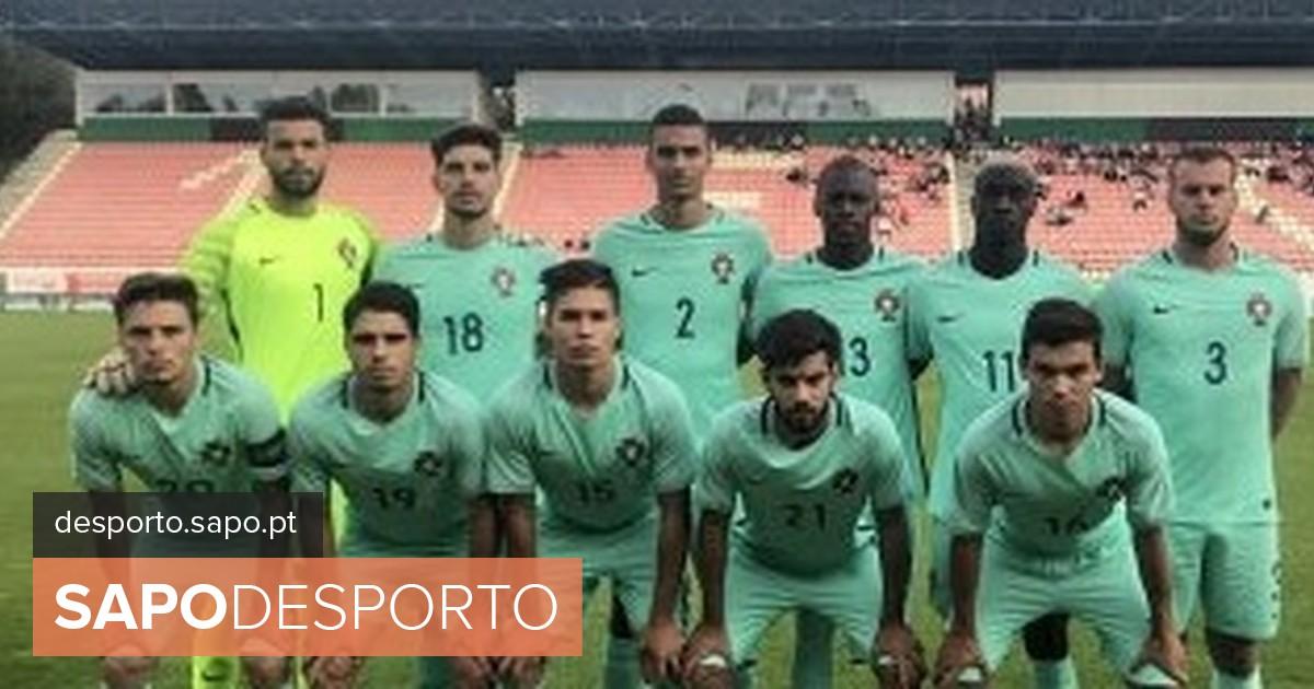 Sub-20  Seleção lusa goleia República Checa em encontro particular - EURO Sub  19 - SAPO Desporto 6568dd515dc0d
