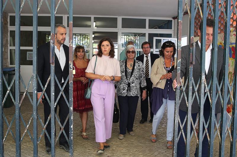 OE2019: Assunção Cristas visitou creche de Cascais para sinalizar prioridades do partido