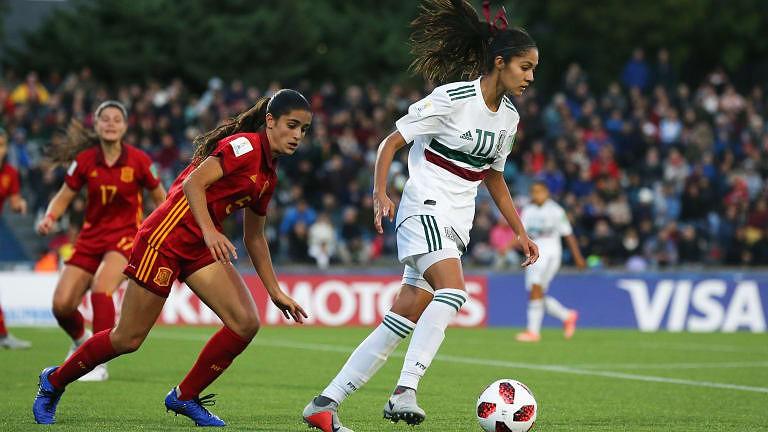 Espanha conquista primeiro título mundial de futebol feminino de sub ... c7678fe84a320