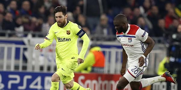 0a83e66aa8 Champions  Lyon e Barcelona anulam-se e deixam tudo em aberto para a segunda