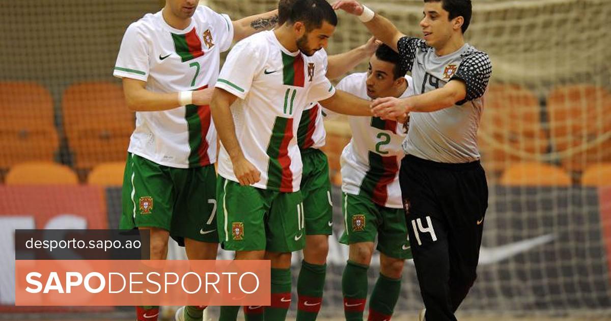 Seleção inicia estágio com o sonho do título - Futsal - SAPO Desporto d95be2b34d330