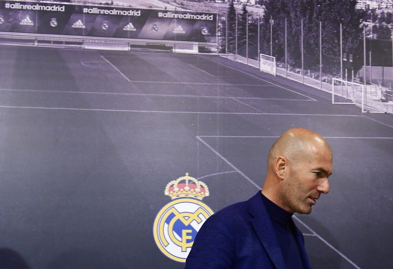 Oficial: Zidane sai do Real Madrid