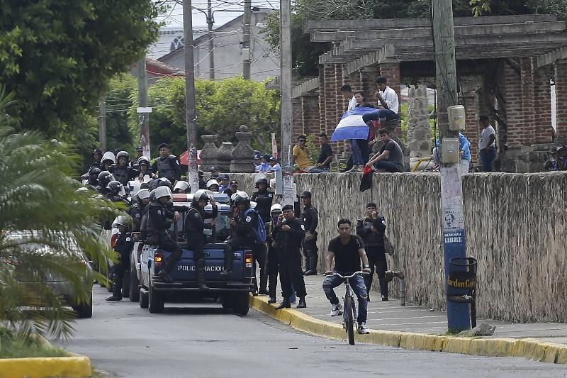 Resultado de imagem para Pelo menos 19 detidos em manifestação na Nicarágua, incluindo uma brasileira