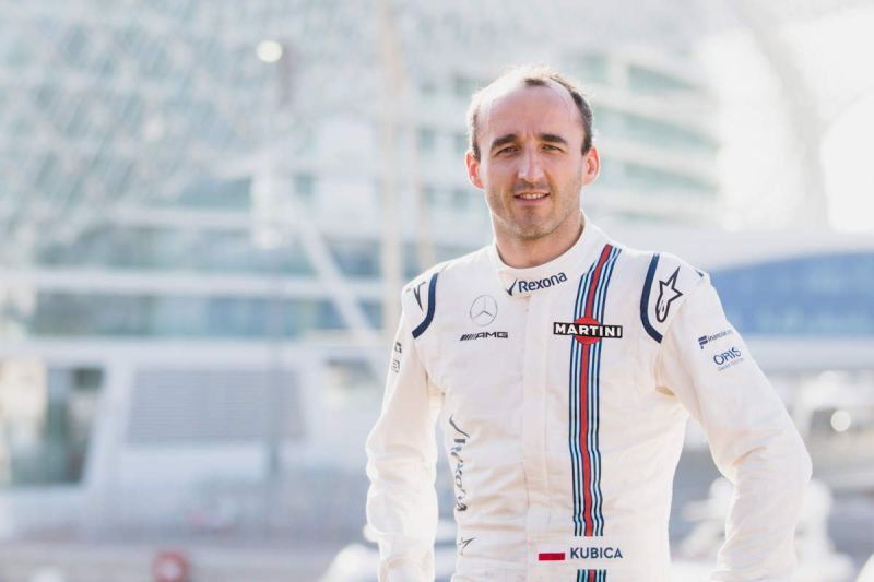 Robert Kubica está de regresso à Fórmula 1 como piloto da Williams