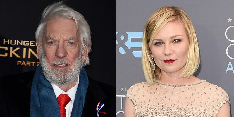 7384e6aabcbd4 Donald Sutherland e Kirsten Dunst no júri de Cannes - Atualidade ...