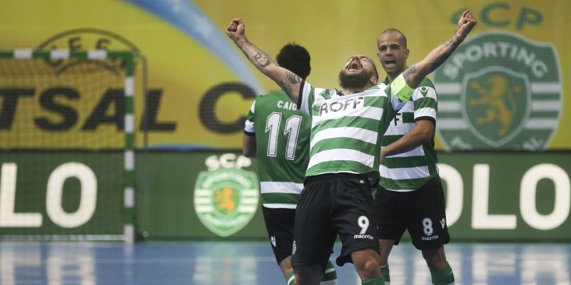 45ffeb3b64e22 Sporting só sabe ganhar no Nacional de futsal. Já lá vão 14 vitórias ...