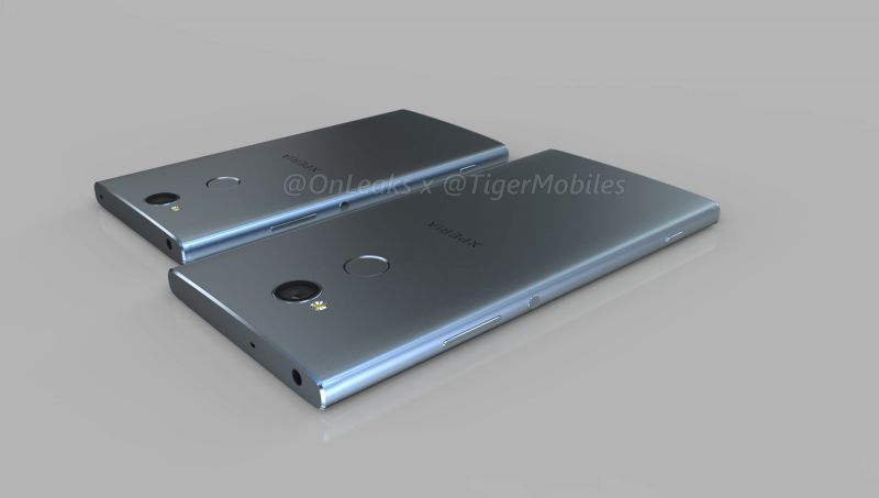 Leaks: Sony Xperia XA2 e XA2 Ultra mantêm vivas as molduras