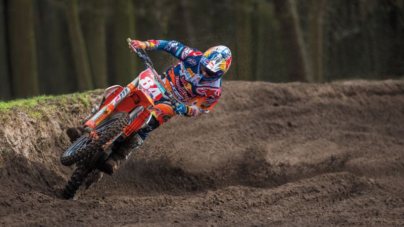 Jeffrey Herlings vence corrida de qualificação no GP Portugal de motocrosse