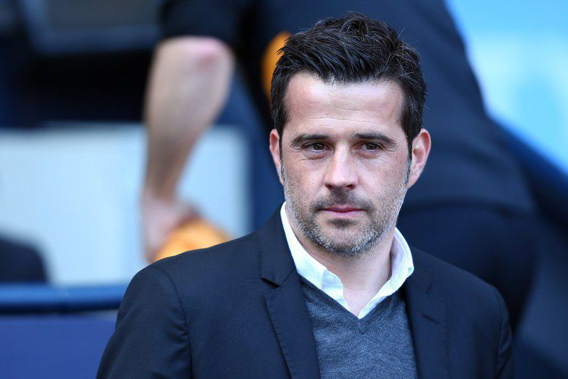 Marco Silva Hull City • Hull City's Manager Marco Silva during the English Premier League soccer match between Manchester City and Hull City at the Etihad Stadium in Manchester, Britain, 8 April 2017. EPA/TIM KEETON EDITORIAL USE ONLY. No use with unauthorized audio, video, data, fixture lists, club/league logos or 'live' services. Online in-match use limited to 75 images, no video emulation. No use in betting, games or single club/league/player publications.