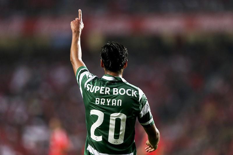 Bryan Ruiz, jogador do Sporting
