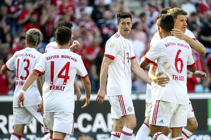 14e0d52c13 Campeão Bayern de Munique vence e dilata vantagem na liga alemã de futebol