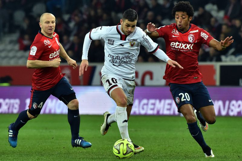 Lille vs Nice • PHILIPPE HUGUEN / AFP