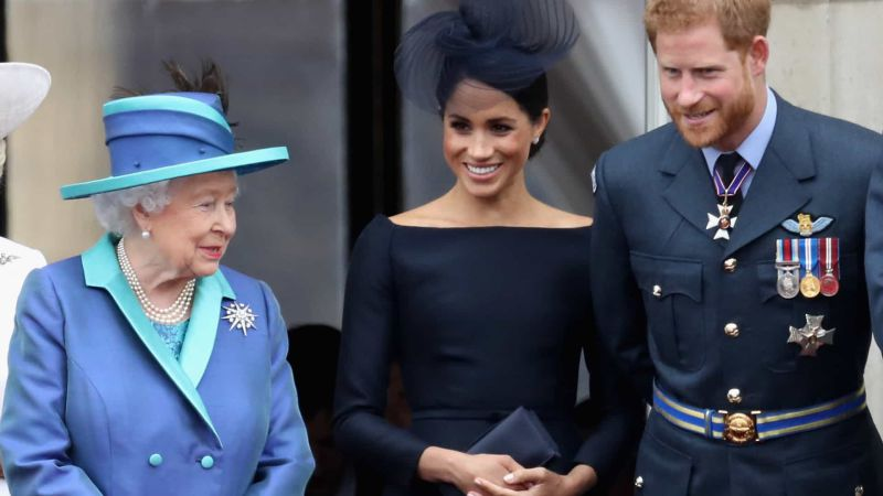 Harry e Meghan Markle queriam