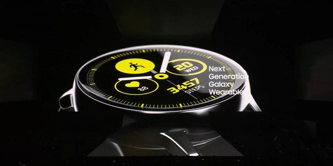 Samsung apresenta o Galaxy Watch Active e a pulseira de fitness Galaxy Fit