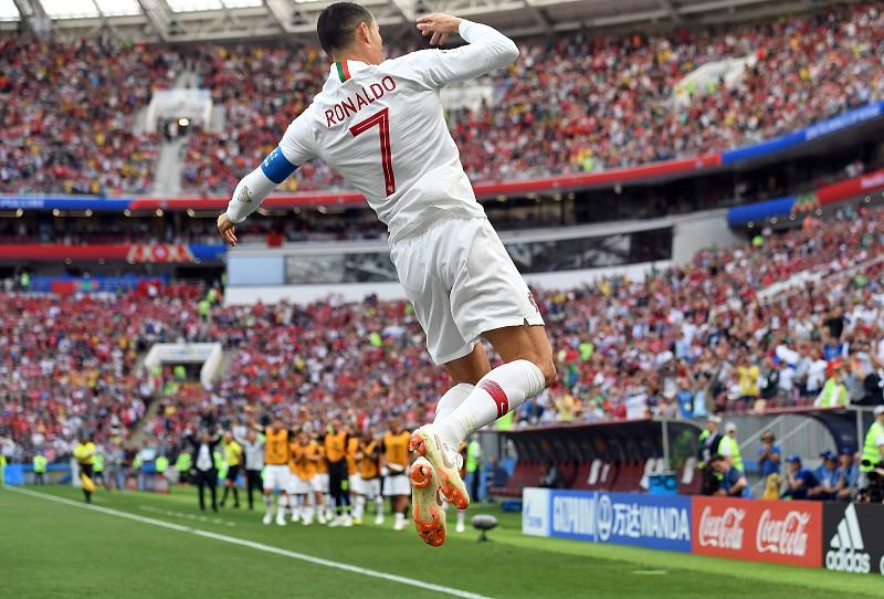 Mundial 2018: Cristiano Ronaldo soma quinto golo consecutivo de Portugal