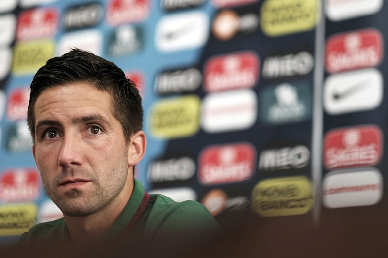 Portugal's National soccer press conference • Portugal's national soccer team's player João Moutinho attends to a press conference in view of the upcoming match against Armenia at Tbilisi stadium, Georgia, 10 June 2015. Portugal will face Armenia in the UEFA EURO 2016 qualifying soccer match on 13 June 2015. HUGO DELGADO/LUSA • Lusa