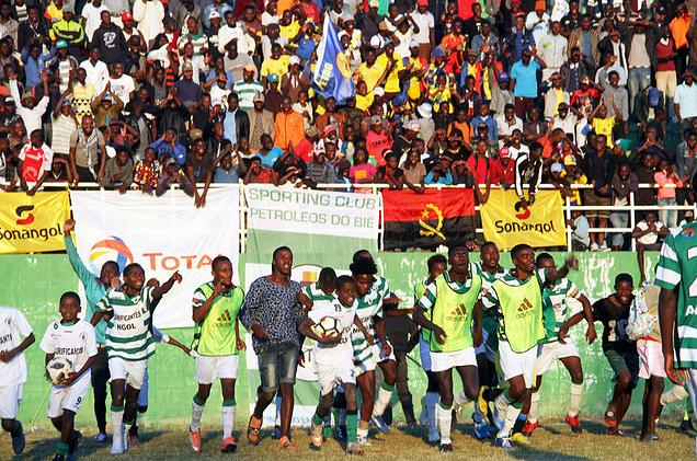 Futebol Angola  Sporting do Bié estreia-se com vitória - Angola ... 1b9e515af59e3