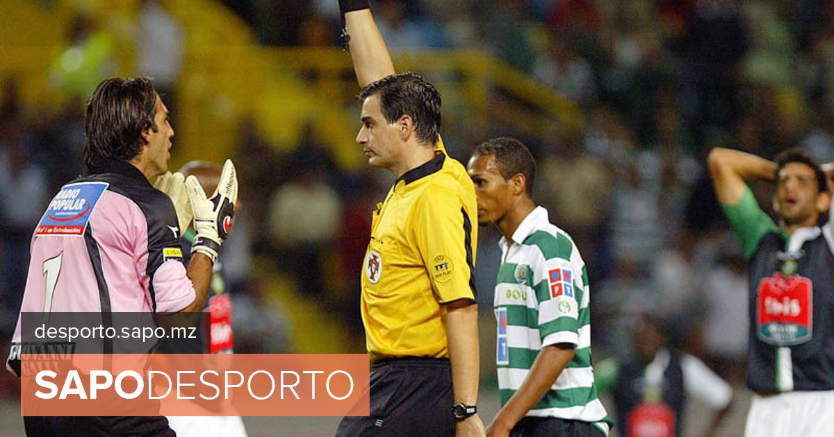 3a46426aa0 Paulo Baptista arbitra Sporting-Nacional - Taça de Portugal - SAPO Desporto