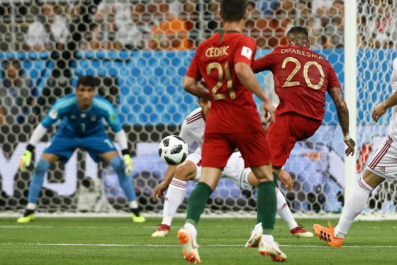 6e385a3e9c Irão-Portugal  Ricardo Quaresma marcou no primeiro jogo a titular em  Mundiais