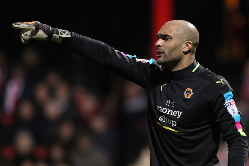 Carl Ikeme, guarda-redes do Wolverhampton • Site Wolverhampton