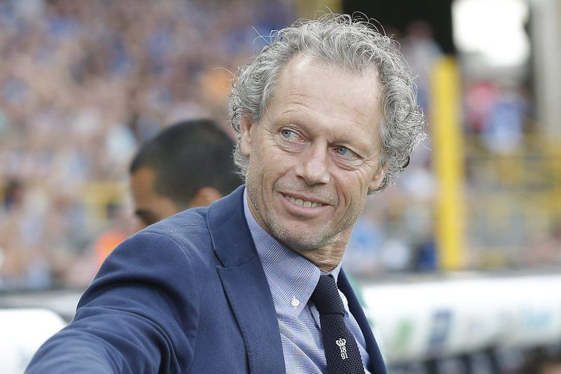 Michel Preud'homme, treinador do Club Brugge • epa04873300 Club Brugge's head coach Michel Preud'homme before the UEFA Champions League third qualifying round second leg soccer match between Club Brugge and Panathinaikos Athens at the Jan Breydelstadion in Brugge, Belgium, 05 August 2015.  • EPA/JULIEN WARNAND