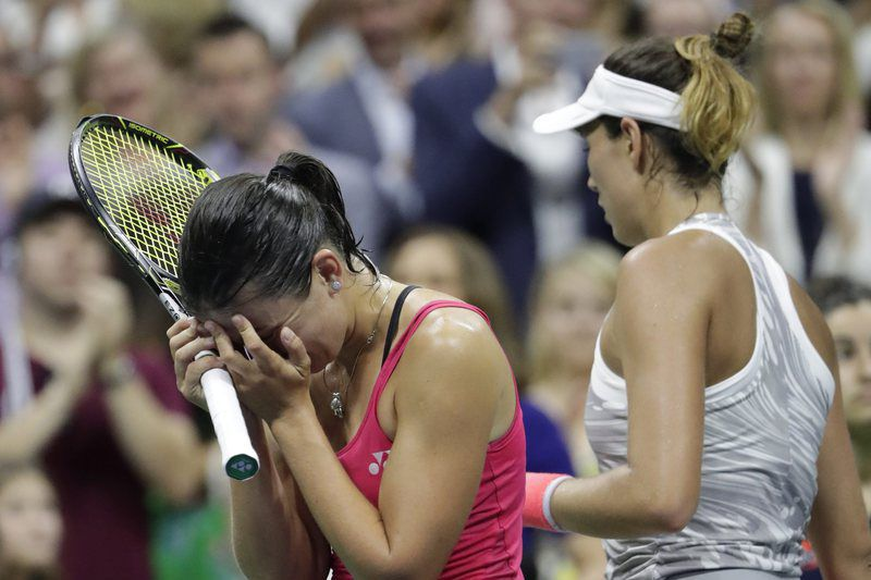 Muguruza cai no US Open 2016 • Lusa