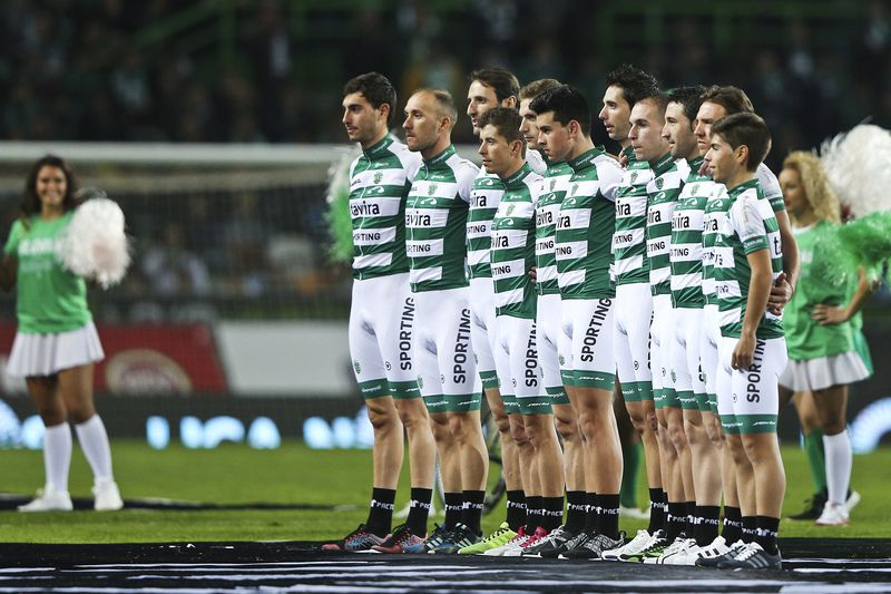 Equipa de ciclismo do Sporting • Lusa