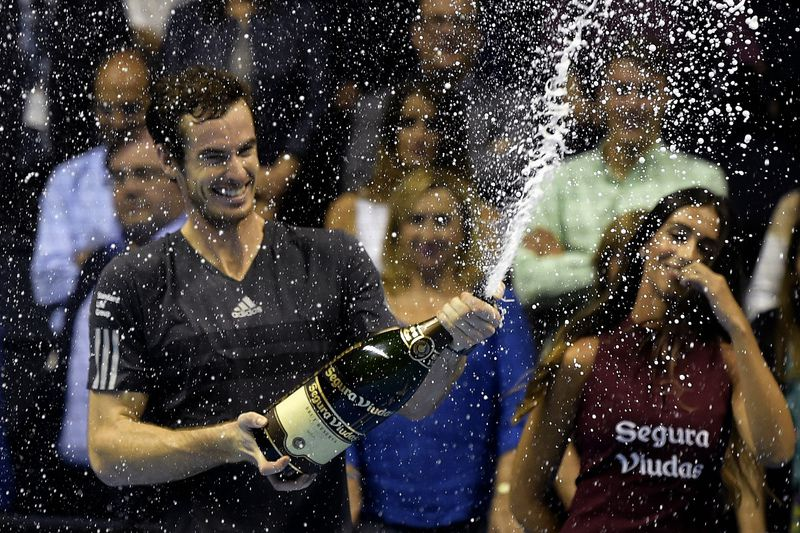 Andy Murray • JOSE JORDAN / AFP