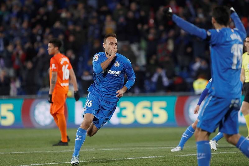 Getafe vence e sobe ao oitavo lugar da liga espanhola de futebol ... 57bf56db9266f