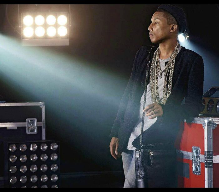 Pharrell Williams é o rosto do novo filme da Chanel
