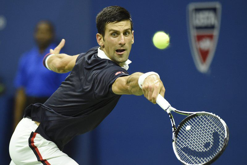 Novak Djokovic no US Open 2015 • Lusa