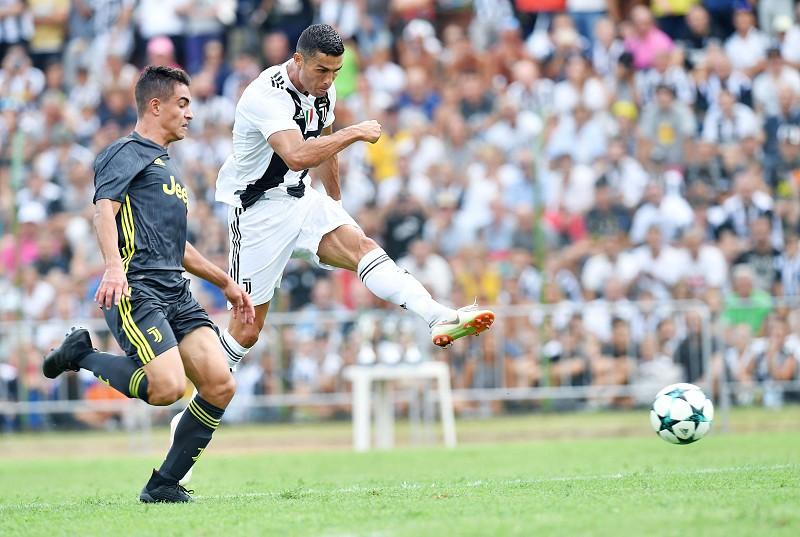 Cristiano Ronaldo marca no primeiro jogo particular pela Juventus ... 249277f29a93e