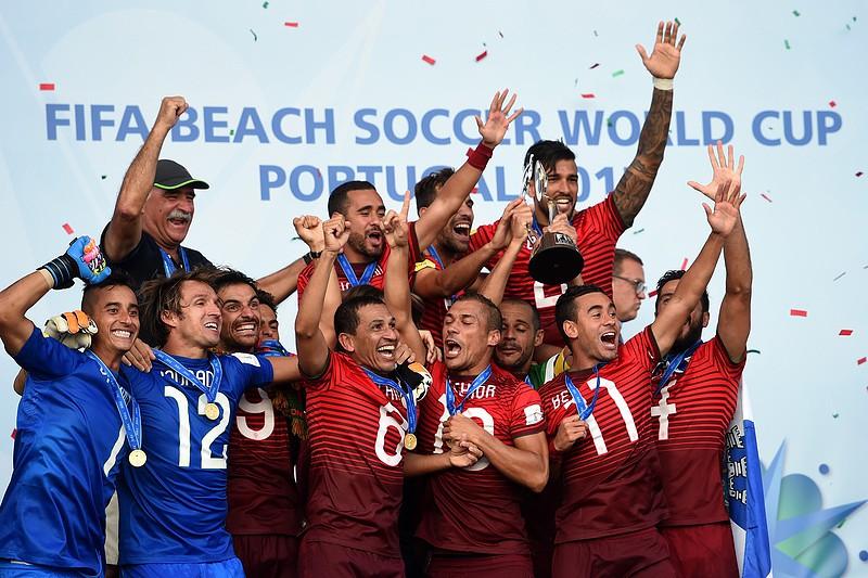 572502cdac Portugal lidera ranking mundial de futebol de praia pela 1ª vez ...