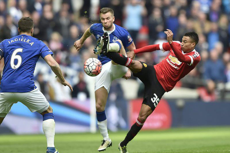 Everton - Manchester United • Lusa