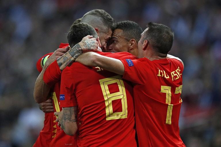 e8550573b96b2 Espanha vence Inglaterra em Wembley na estreia de Luis Enrique ...