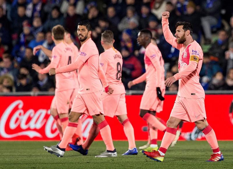 Barcelona vence em Getafe e reforça liderança da liga espanhola - La ... 77224bb4099de